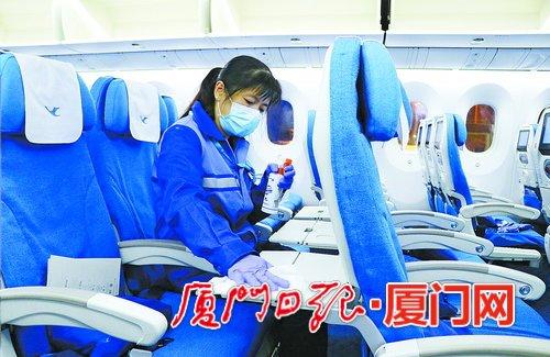 厦门航空按手术室标准打造洁净客舱