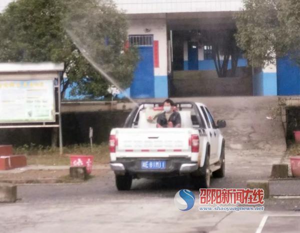 新宁县第四中学全力开展疫情防控工作
