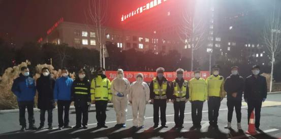 """陕西西咸新区沣西新城 白马河检查站的""""逆行""""勇士"""