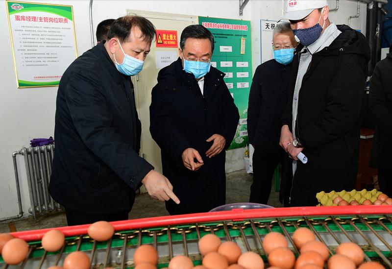 唐仁健在天祝调研疫情防控产业扶贫企业复产春耕备耕工作时强调图片