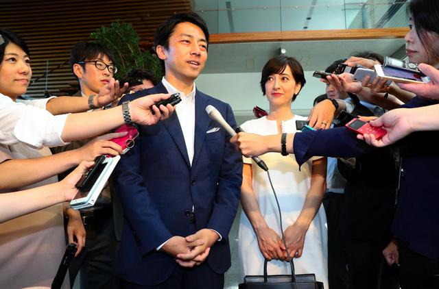 日媒曝日本前首相小泉纯一郎与儿