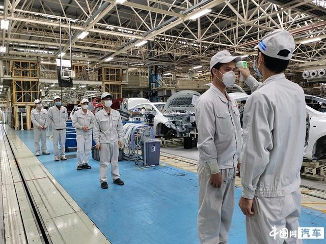 共战疫情 广汽集团旗下整车企业陆续正式复产