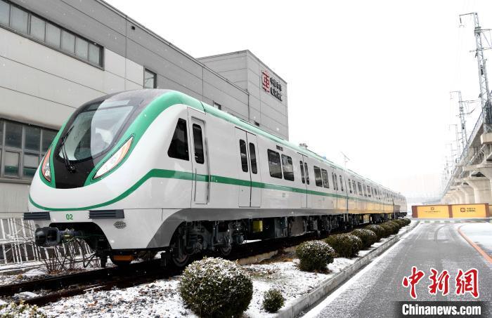 中国出口尼日利亚内燃动车在辽宁