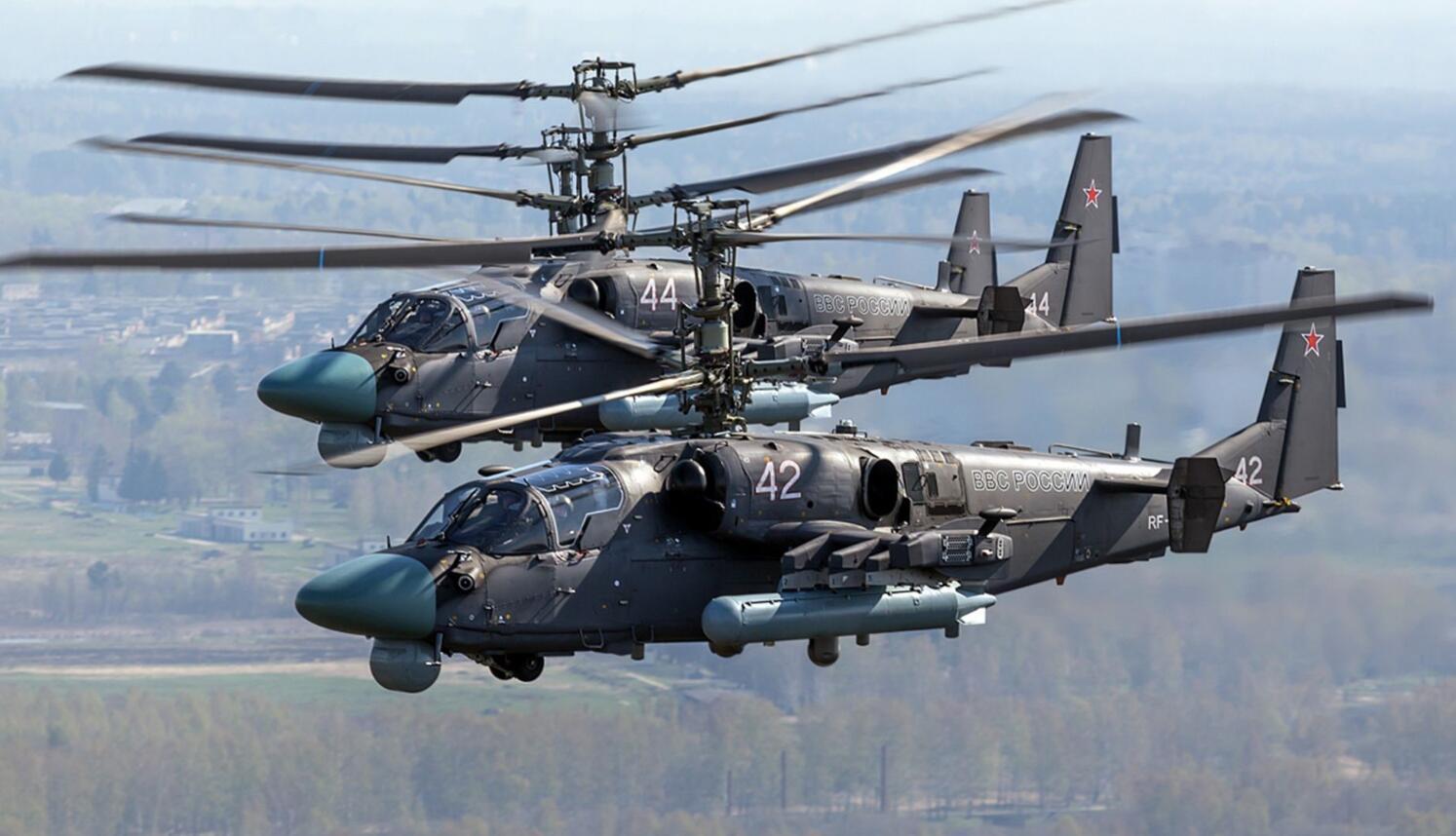 俄军武直将配备射程100公里导弹 曾在叙利亚实战测试