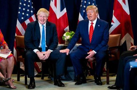 海外网评:英国首相访美行程,为何一推再推?