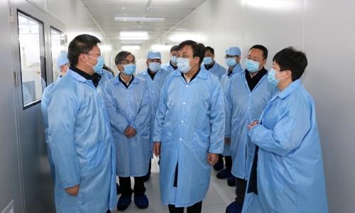 冯飞常务副省长在德清调研复工复产和疫情防控工作图片
