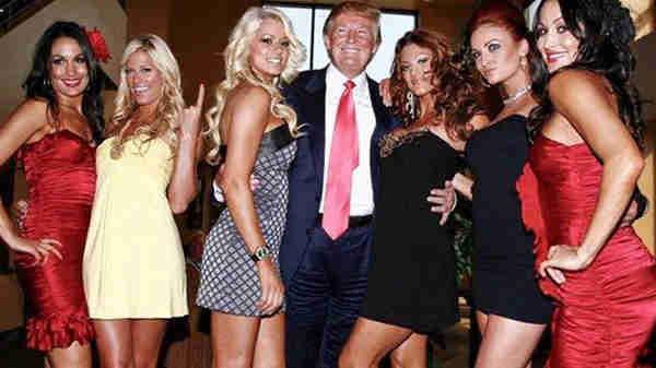 """前WWE女子冠军吐槽美国总统特朗普""""咸猪手"""""""