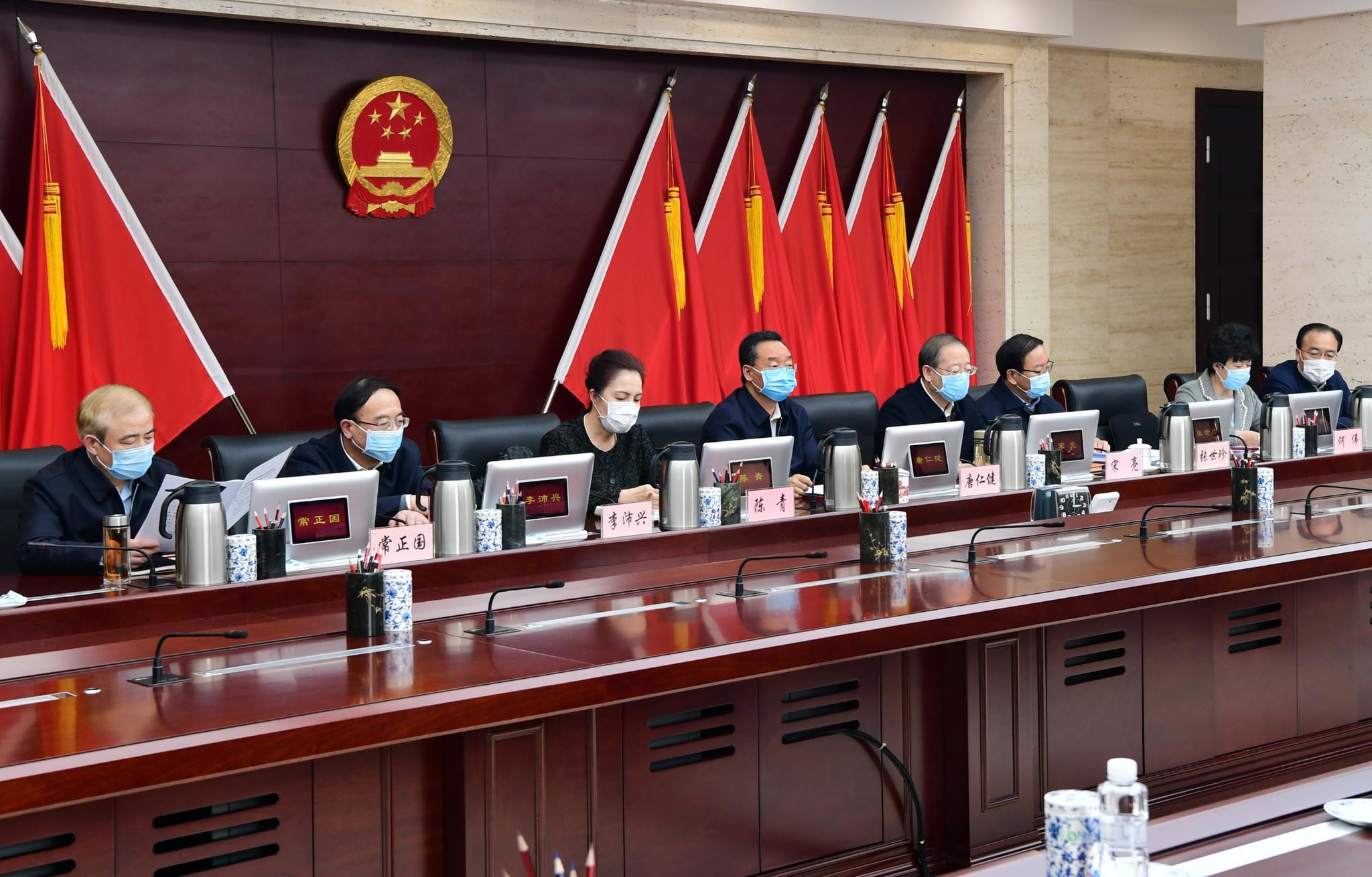 唐仁健在省新冠肺炎疫情联防联控领导小组第十次会议强调图片