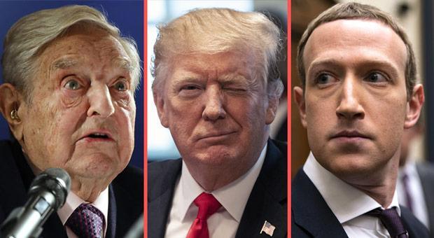 索罗斯呼吁脸书炒掉扎克伯格 斥其帮特朗普竞选连任