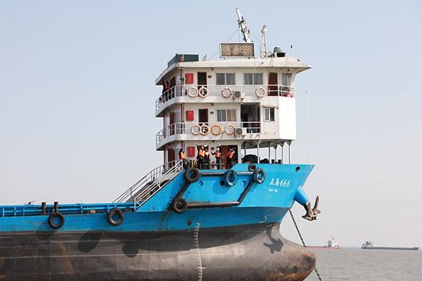 14天观察期结束 长江上海段首艘有确诊病例的船舶解除隔离图片