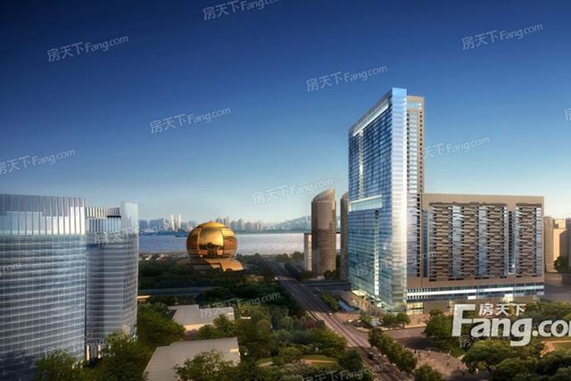 2020年2月杭州市钱江新城商圈写字楼市场租赁情况