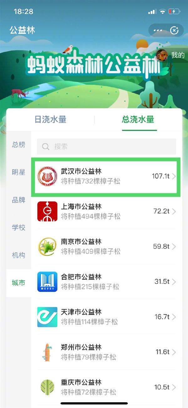 全国网友为武汉浇水:热干面等你一起绿