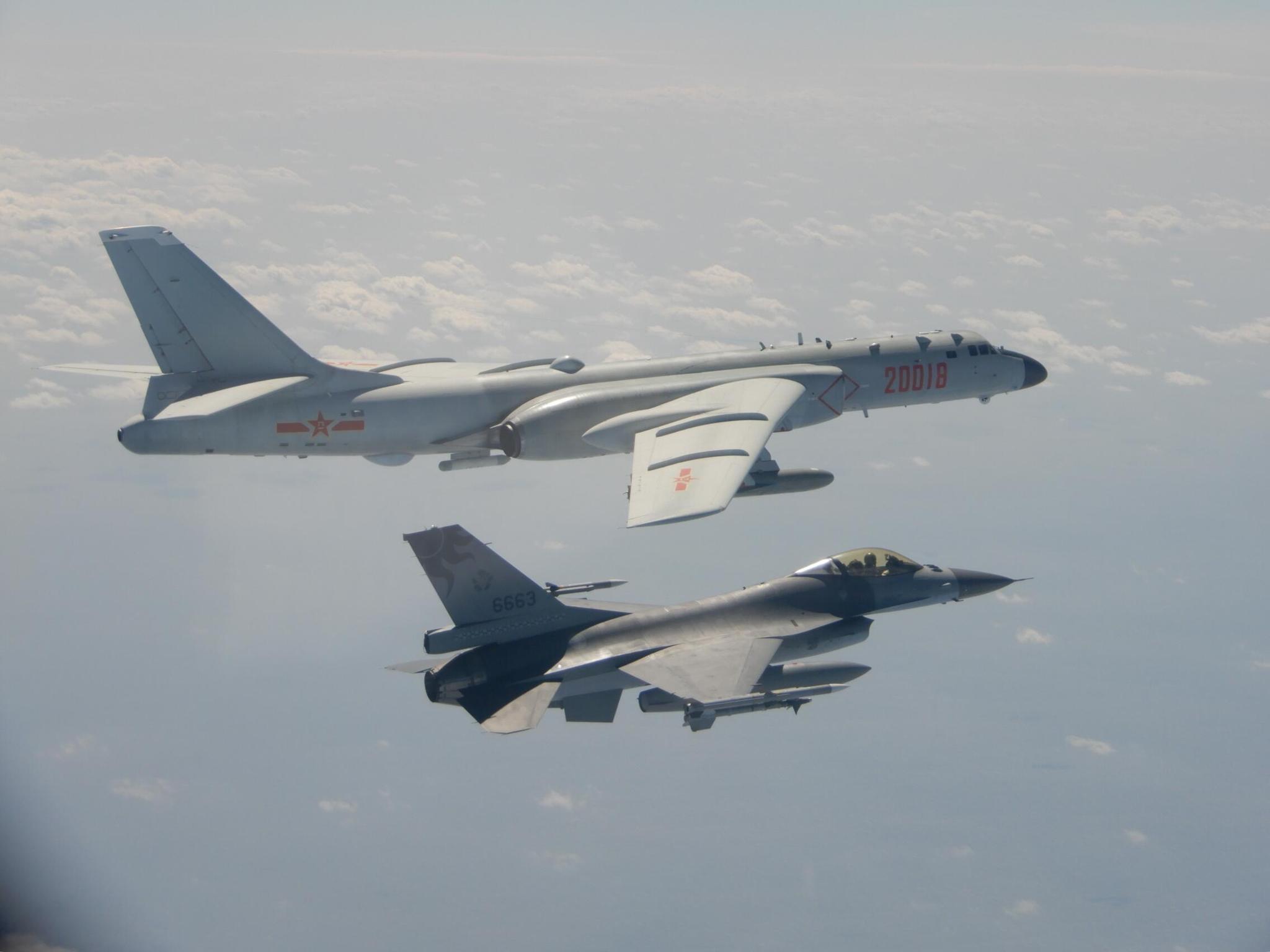 台军承认:F16战机被解放军歼11锁定