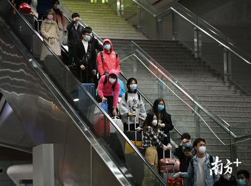 广铁集团春运期间发送旅客超3600万人次 同比降44.4%