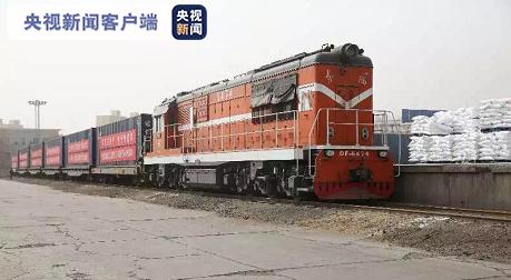 跨越9000里 新疆喀什百吨生活物资援助武汉图片