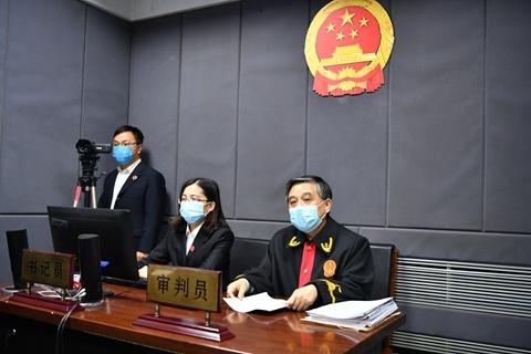 天津静海法院公开宣判一起涉疫情妨害公务案图片
