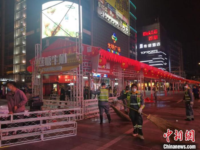 """广州北京街:全城最热闹街道迄今""""零病例"""""""
