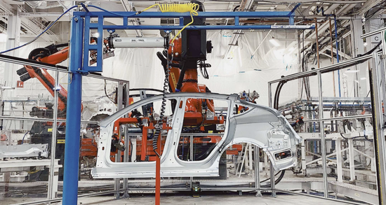 特斯拉德国工厂预计周产Model