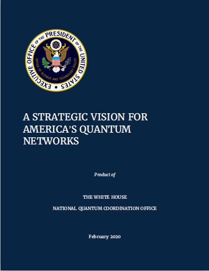 量子互联网大战!美国发布《战略构想》文件,欲抢占领导地位
