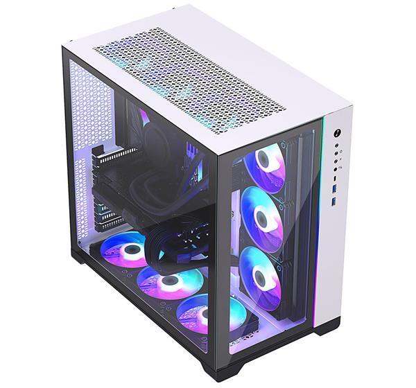 追风者推出NEO CUBE机箱:支持2套主机 4个360水冷散热器