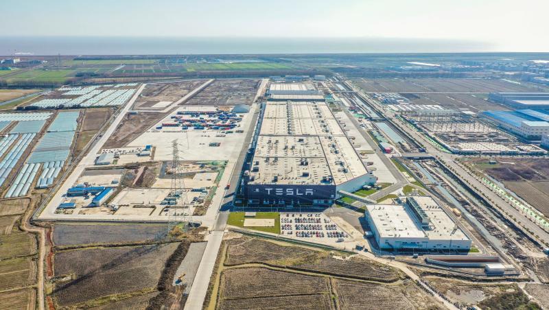 上海特斯拉超级工厂全面恢复生产