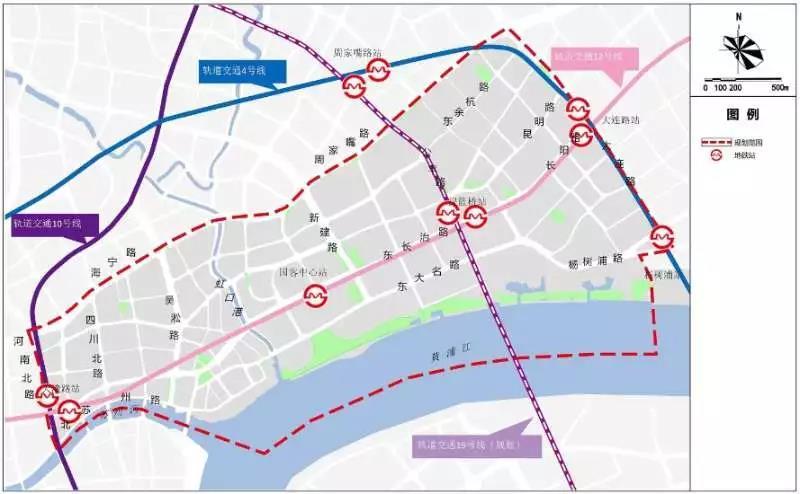 上海北外滩将建顶级中央活动区,