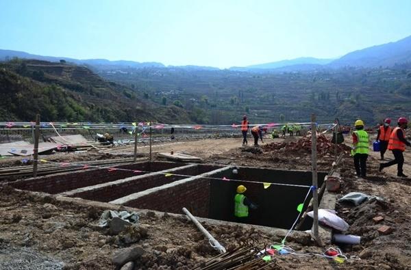 凉山州宁南县率先推进白鹤滩移民工程有序复工