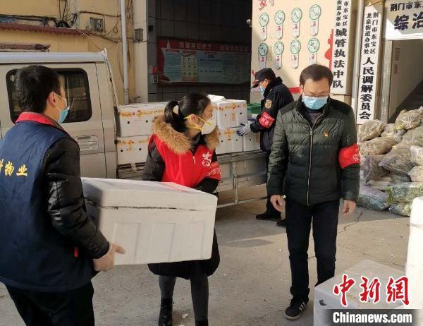 宝宝计划傅园慧向湖宝宝计划北荆门捐赠10吨图片