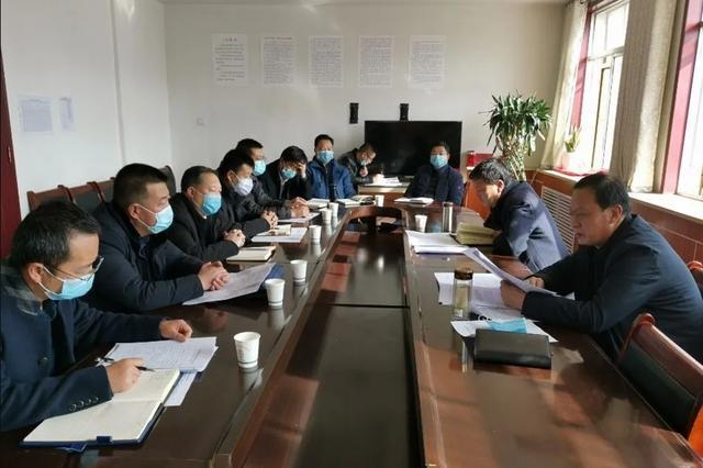 清水县召开项目复工复产工作推进会