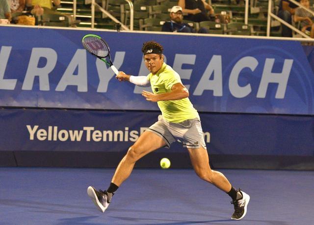 德尔雷比奇网球公开赛加拿大球星拉奥尼奇闯进八强