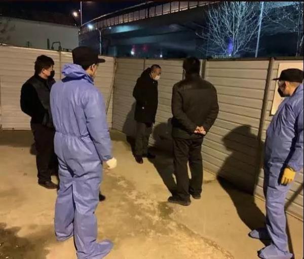 济南一男子外省返济体温高于37.3℃, 多次翻墙逃避测温图片
