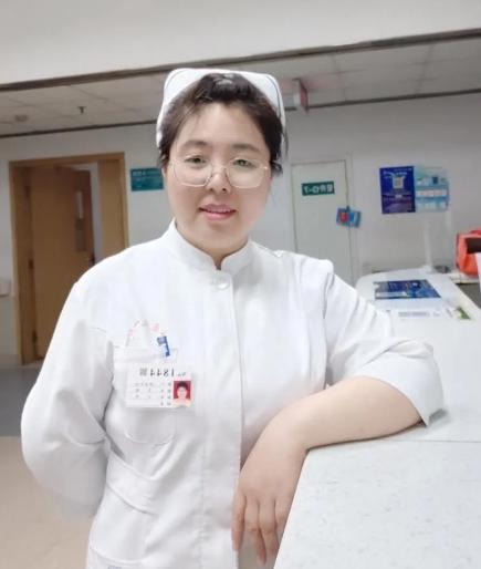 山西医科大学第一医院神经外科副护士长李婧。(资料图片)新华网 发
