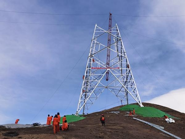 青海-河南±800千伏特高压直流输电线路工程(青海段)正式复工