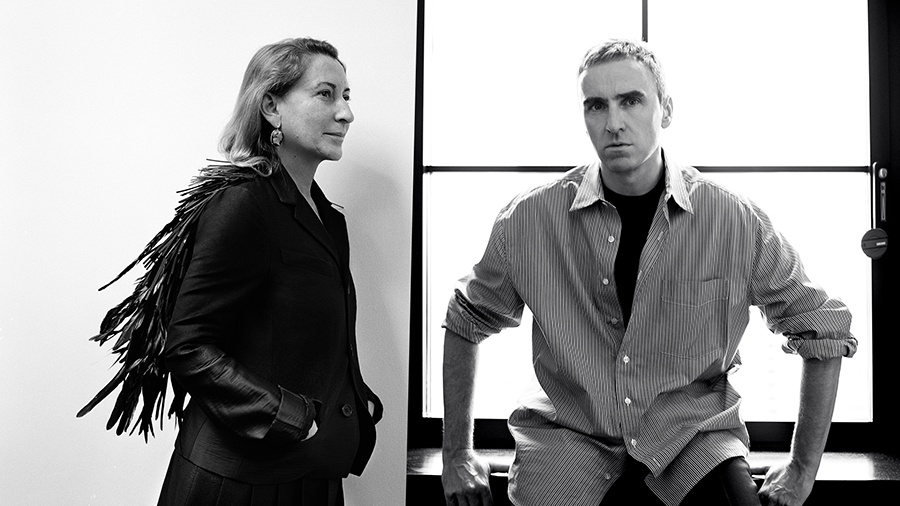 Raf Simons 加入 Prada,出任联合创意总监