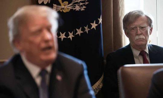 """特朗普称前国家安全顾问博尔顿""""叛徒"""":他的书不应该大选前出版"""