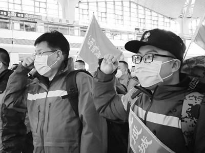 30名影像技师奔赴武汉方舱医院