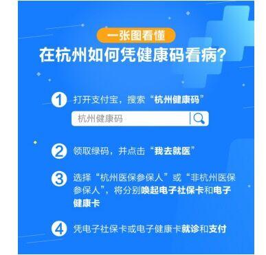 杭州健康码宣布升级 杭州市民可凭支付宝健康码看病