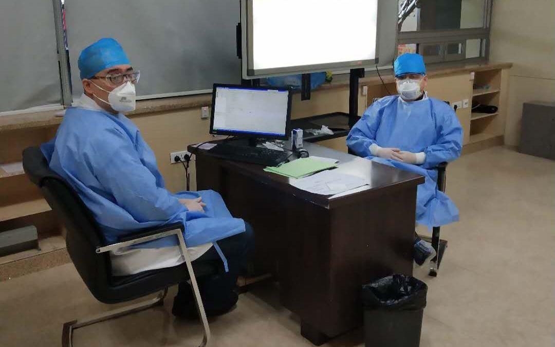 哈尔滨坚守工作岗位的医生:三天零确诊看到曙光图片