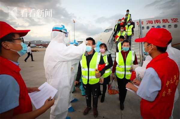亚机场顺利完成恒行海南首班复工包机保障,恒行图片