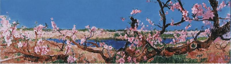 """中外艺术家""""风雨同舟""""线上拍卖,善款采购防疫物资捐给湖北上海等地学校图片"""