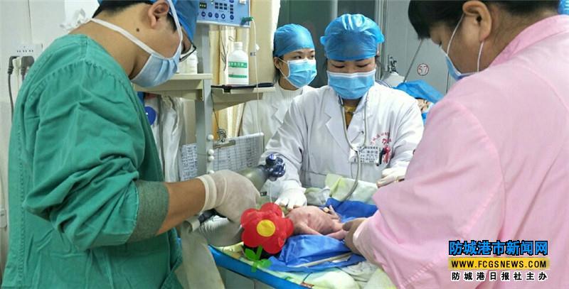 """全力战""""疫""""  共克时艰——防城区妇幼保健院用暖心服务保母婴安全"""