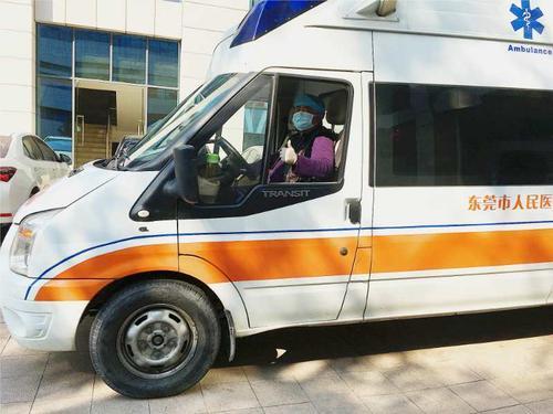 蔡文跃:谢岗医院逆风前行的120驾驶员