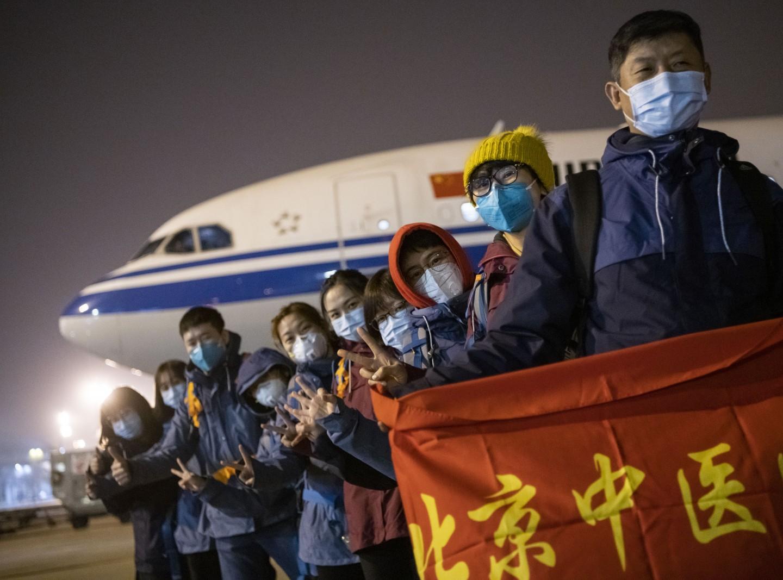 驰援武汉30日——非常时期的北京援手图片