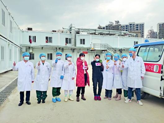 贵州医疗队分秒必争全力救治鄂州新冠肺炎患者