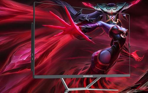 大屏幕+强悍性能 用海兰G700一体机打游戏就是这么爽