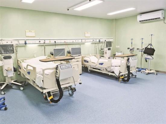 探营深圳市第三人民医院应急院区:看似普通病房 配备更为齐全