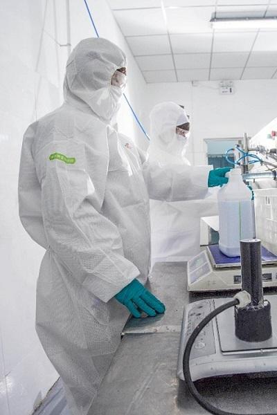 800吨消毒液驰援一线 生产商格利特通过京东工业品实现快速复产