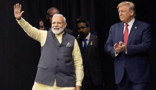 特朗普首次对印度进行国事访问,印度总理莫迪都准备了啥