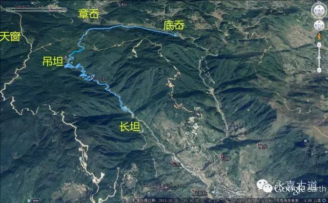 温州吊坦漈古道,瀑飞水奔,奇石林立,箬叶招人,风景奇美