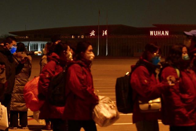 本端记者直击:北京医疗队30天武汉保卫战图片